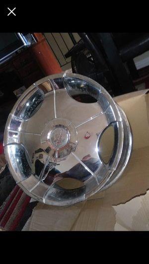 22 inch Rims 5 lugs universal for Sale in Salt Lake City, UT
