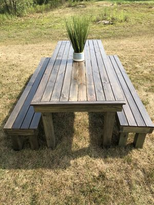 handmade outdoor tables for Sale in Yorkville, IL