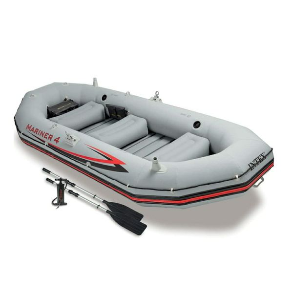 Inflatable boat package