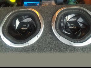2 12 inch Sony Explode Subwoofers for Sale in Lake Elsinore, CA