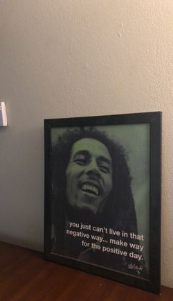 Small Bob Marley Canvas/Poster for Sale in Kingsburg,  CA