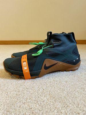 Size 11 Nike Metcon X SF Cross Training Shoes Green Seaweed Brown BQ3123-323 for Sale in Lynnwood, WA