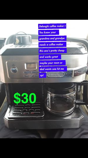 Coffee maker let me know for Sale in Wichita, KS
