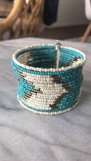 NEW Turquoise beaded bracelet for Sale in Austin, TX