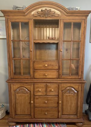 Lighted china cabinet for Sale in Berea, OH
