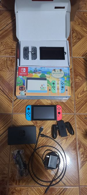 Nintendo switch new and used see below for details for Sale in San Bernardino, CA