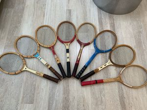 Vintage Wooden Tennis Rackets for Sale in Powell, OH