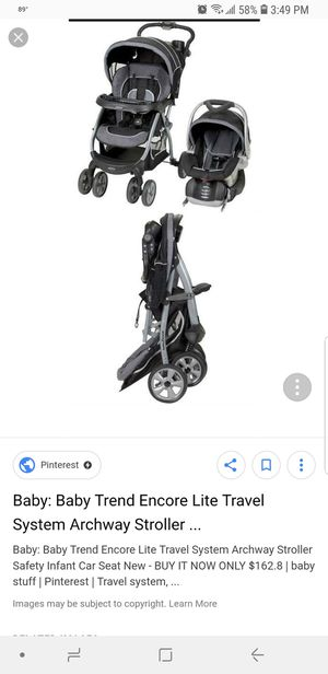 Infant car seat with base & stroller for Sale in Austin, TX