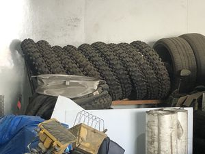 Dirt bike tires 110/90-19 for Sale in Reedley, CA
