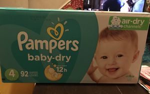 Pampers Size 4 for Sale in Irving, TX