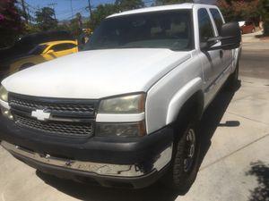 2005 Chevrolet Silverado 2500 hd duramax diesel for Sale in Oak Glen, CA