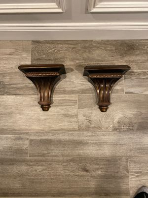 Decorative wall shelves (2) for Sale in South Amboy, NJ