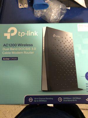 TP wireless modem/router combo for Sale in Sun City, AZ