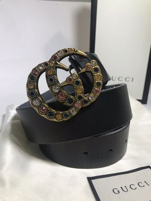 Gucci GG Gems Belt (Buy Now & Get Free Gucci Socks!) for Sale in Queens, NY