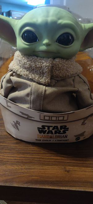 Mattel 4.9 out of 5 stars 12,526Reviews Mattel Star Wars The Child Plush Toy, 11-Inch Small Yoda-Like Soft Figure from The Mandalorian, for Sale in Mesquite, TX