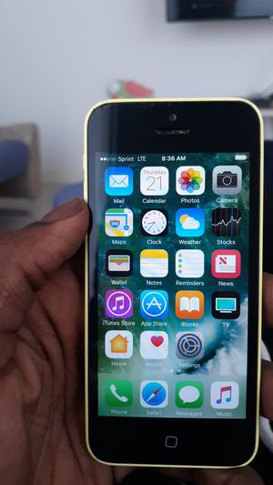 Iphone5c by sprint for Sale in Washington, DC