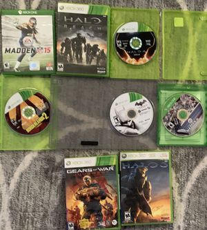 Xbox 360 Xbox one games for Sale in Merrick, NY