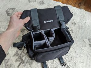 Genuine Canon Brand 2400 SLR DSLR Camera Bag Shoulder EOS Rebel Nikon 6d 5d 7d t5i t4i t3i t2i for Sale in Seattle, WA