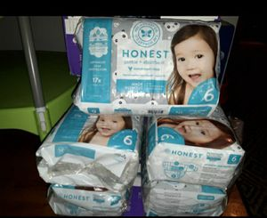 Honest diapers size 6 for Sale in Portland, OR