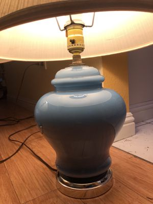 Charming Ginger-Jar Table Lamps-set of two for Sale in Pinole, CA