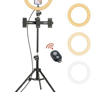 """10"""" LED Ring Light with Tripod Stand Adjustable & Cell Phone Holder for Sale in Hialeah, FL"""