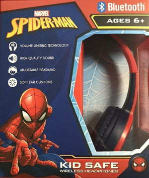 Spiderman boys headphones wireless Bluetooth marvel for Sale in Kissimmee, FL