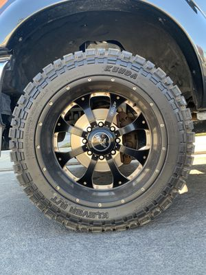 35/{link removed} 8 Lug Wheels and Tires for Sale in Manteca, CA