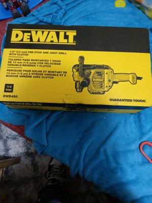 Dewalt stud and joist drill new for Sale in Charlotte, NC