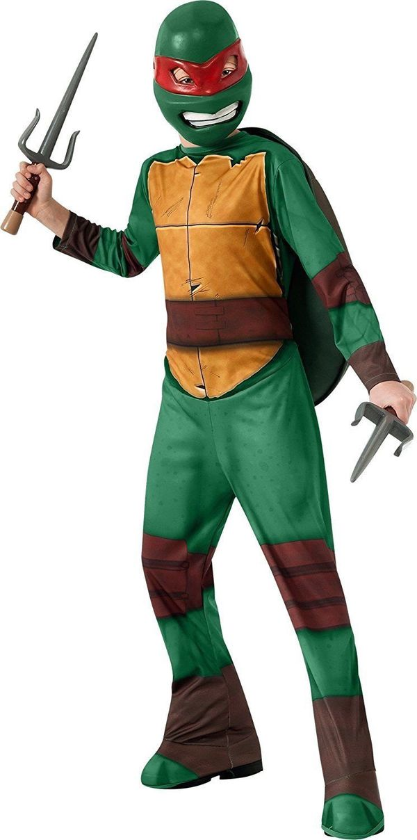 Teenage Mutant Ninja Turtles Turtle Raphael Red Child Boys Halloween Costume - new with tag