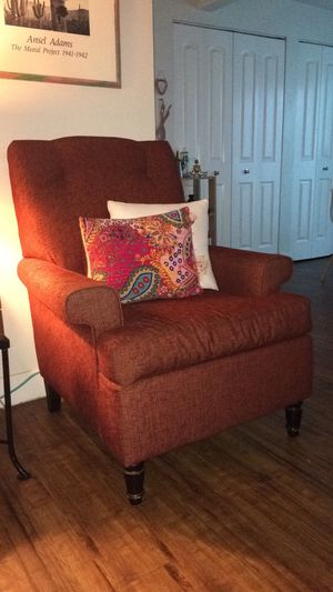 Vintage rust sofa for Sale in West Valley City, UT