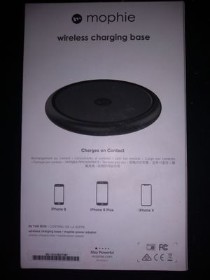 Mophie wireless charging base for Sale in Austin, TX