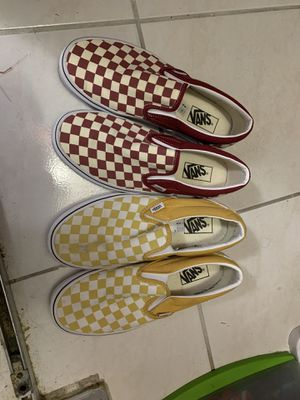 Vans yellow and red for Sale in Hialeah, FL