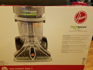 Hoover MaxExtract Dual V Carpet Cleaner/Shampooer for Sale in Oakland, CA