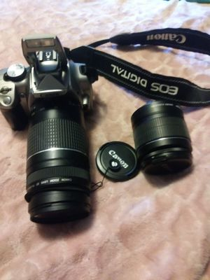 Canon pro camera with two lenses for Sale in Norwich, CT
