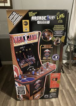 NBA Jam Arcade Brand New Arcade1up for Sale in Happy Valley,  OR