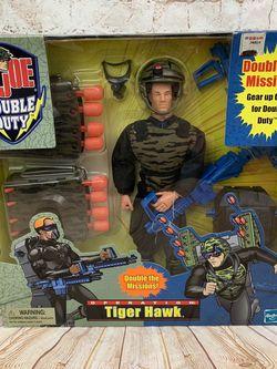 """Vintage GI Joe Double Duty Tiger Hawk 12"""" Action Figure (New) for Sale in Ridgefield,  WA"""