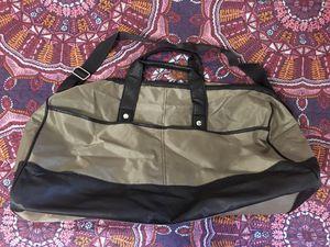 Calvin Klein duffle bag Gold & Chocolate Brown for Sale in Yuma, AZ