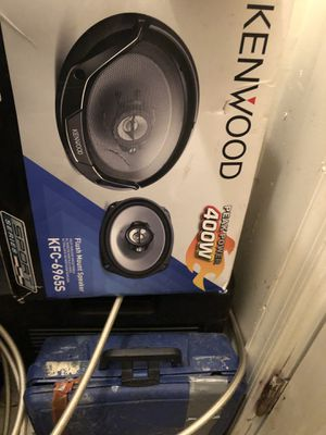 Kenwood car speakers brand new for Sale in Washington, DC