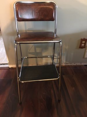 Vintage stool seat for Sale in Saint Paul, MN