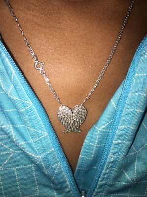 Chain and heart pendant for Sale in Philadelphia, PA