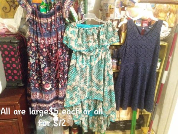 Womans dresses all size large