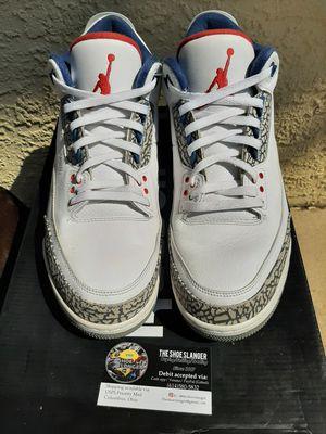 Air Jordan 3 True Blue for Sale in Columbus, OH