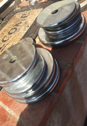 NICE STANDARD CHROME WEIGHTS for Sale in San Diego, CA