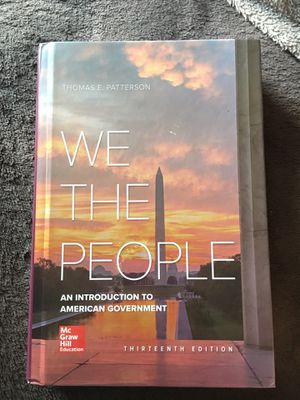 We The People 13th Edition for Sale in Fort Worth, TX