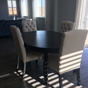 Black Wooden Dinning Table for Sale in Fresno, CA