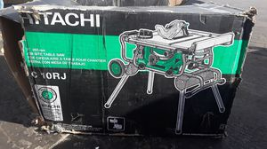 Hitachi Table Miter Saw New for Sale in Fort Worth, TX