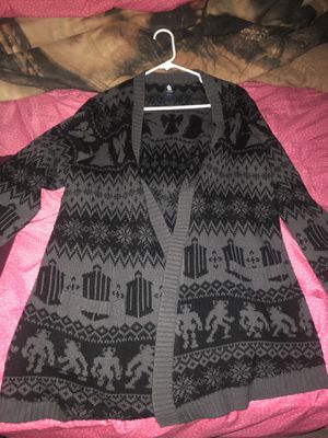 Grey and black torrid sweater for Sale in Corona, CA