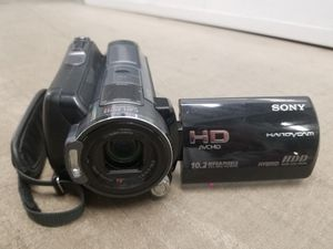 Sony HDR-SR11 12x Optical Stabilized Zoom, 60GB HD, 16GB memory produo-hg card and NP-FH100 battery for Sale in Scottsdale, AZ