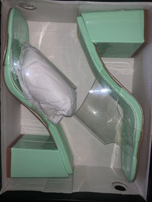 Mint green heels for Sale in Jacksonville, FL