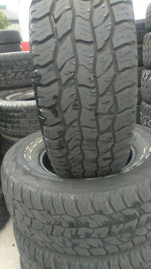 Cooper -4 tires used (265-70R16) for Sale in Tacoma, WA